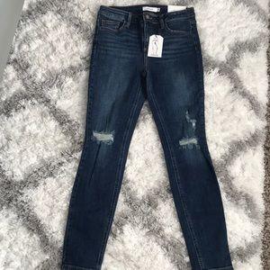 Cello skinny dark wash jeans size 9